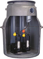 TAZ形  汚物中継槽ユニット